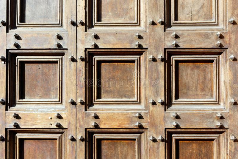 Abstraktes Muster von geometrischen Quadraten stockfotografie