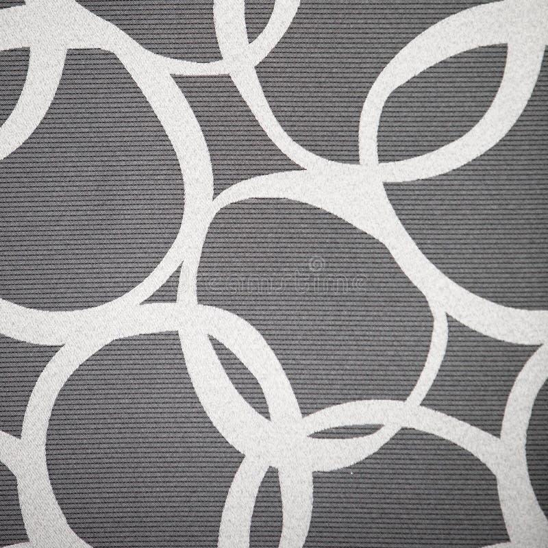 Abstraktes Muster von Ineinander greifenkreisen lizenzfreie stockfotografie
