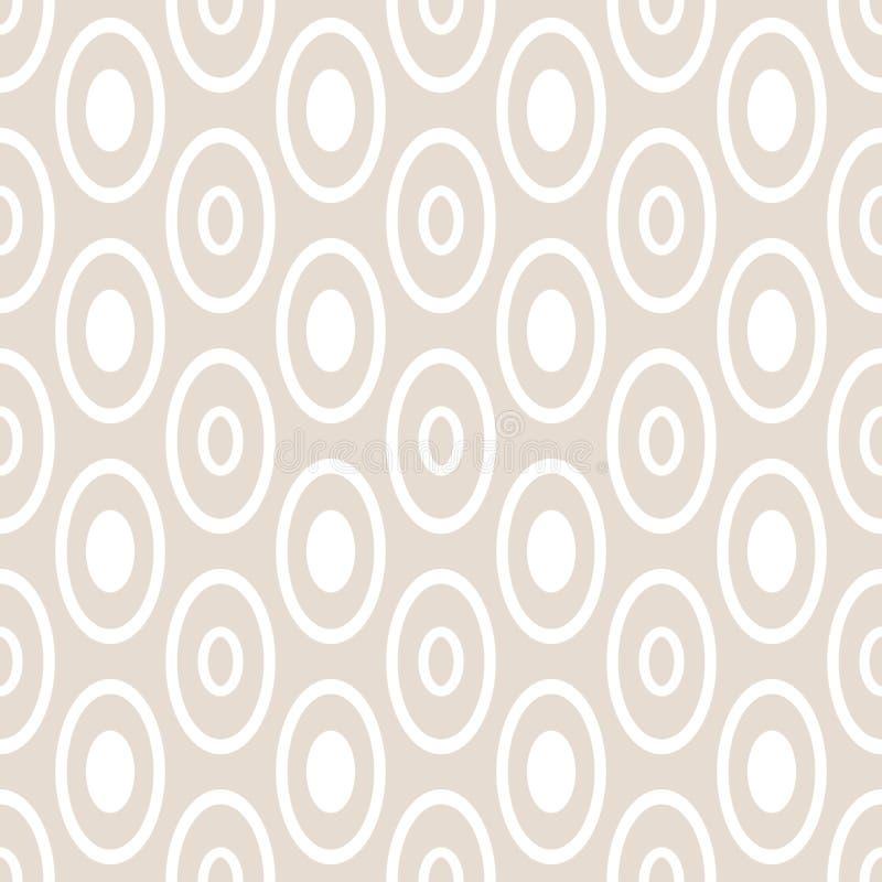 Abstraktes nahtloses geometrisches Muster lizenzfreie abbildung