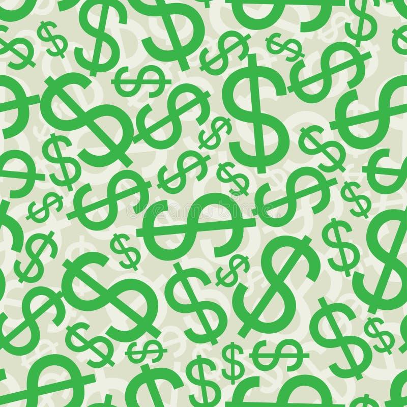 Download Abstraktes Nahtloses Hintergrundmuster Vektor Abbildung - Illustration von einkommen, geld: 26350811