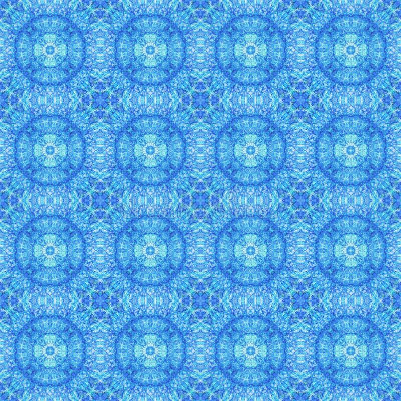 Abstraktes nahtloses Muster stock abbildung