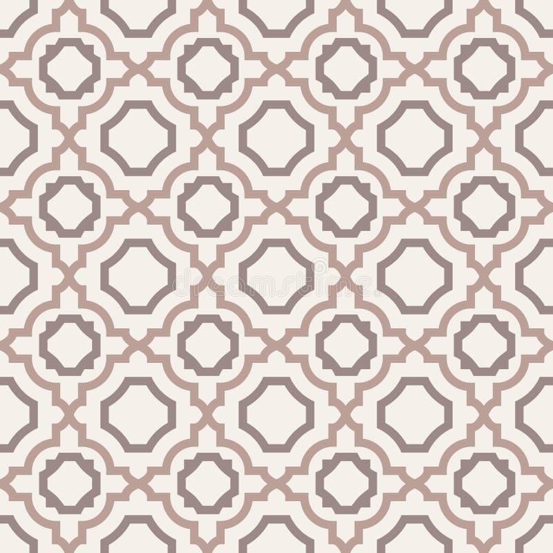 Abstraktes nahtloses Muster. lizenzfreie abbildung