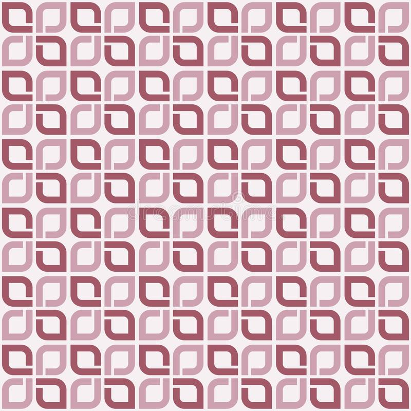 Abstraktes nahtloses Muster. stock abbildung