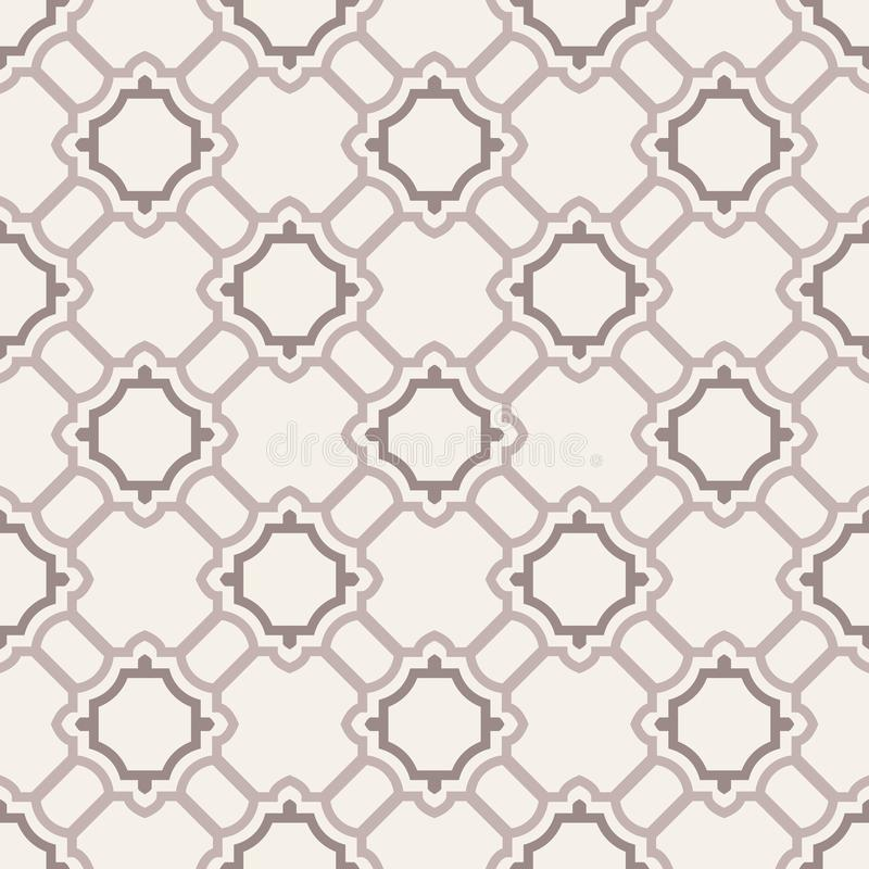 Abstraktes nahtloses Muster. vektor abbildung