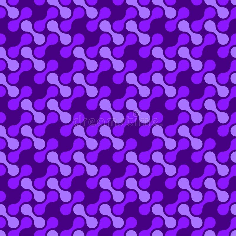 Download Abstraktes Nahtloses Muster Vektor Abbildung - Illustration von rund, papier: 90237535