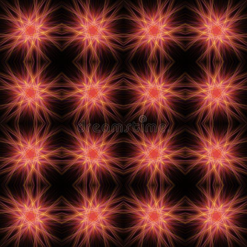 Abstraktes nahtloses Muster vektor abbildung