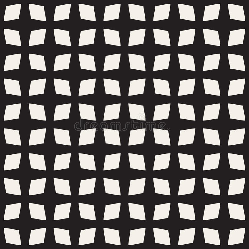 Abstraktes nahtloses Muster des Vierecks vektor abbildung