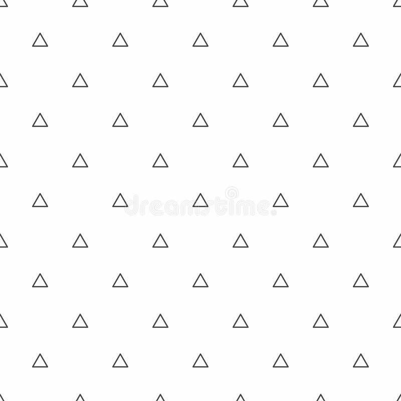 Abstraktes nahtloses Muster Graue Dreiecke, moderne stilvolle Beschaffenheiten lizenzfreie abbildung