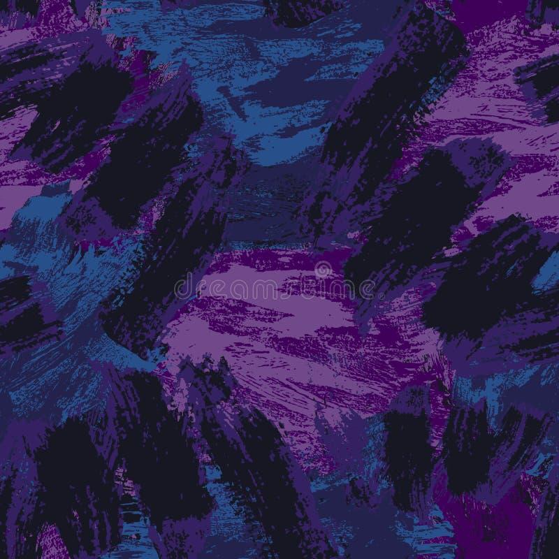 Abstraktes nahtloses Muster Grunge dekorativer Hintergrund Art Rough Stylized Texture Banner mit Raum f?r Text stock abbildung
