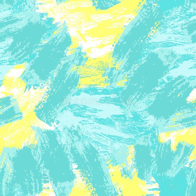Abstraktes nahtloses Muster Grunge dekorativer Hintergrund Art Rough Stylized Texture Banner mit Raum f?r Text vektor abbildung