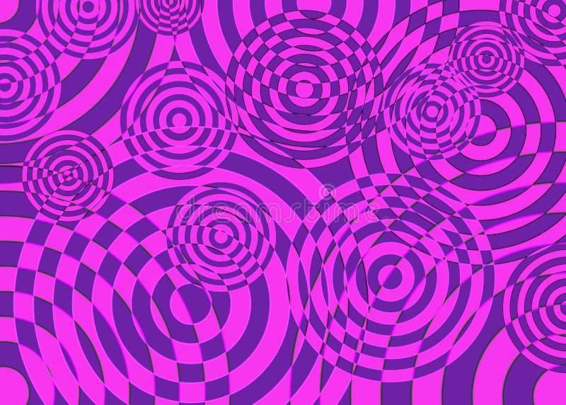 Abstraktes purpurrotes und rosa Bild lizenzfreie stockfotografie