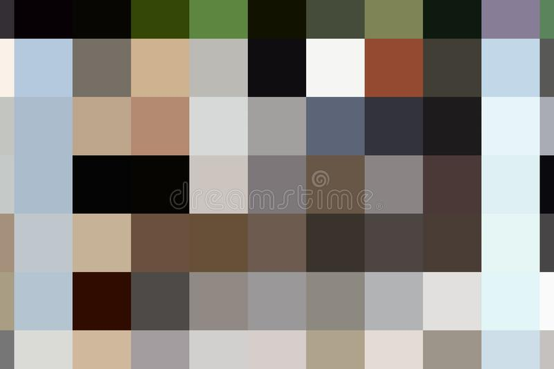 Abstraktes quadratisches Muster stockfoto