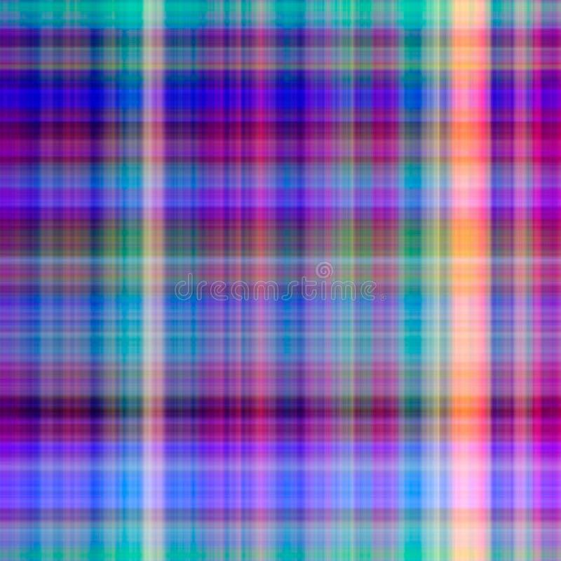 Abstraktes Rasterfeld-PA der Pastellfarben lizenzfreie abbildung