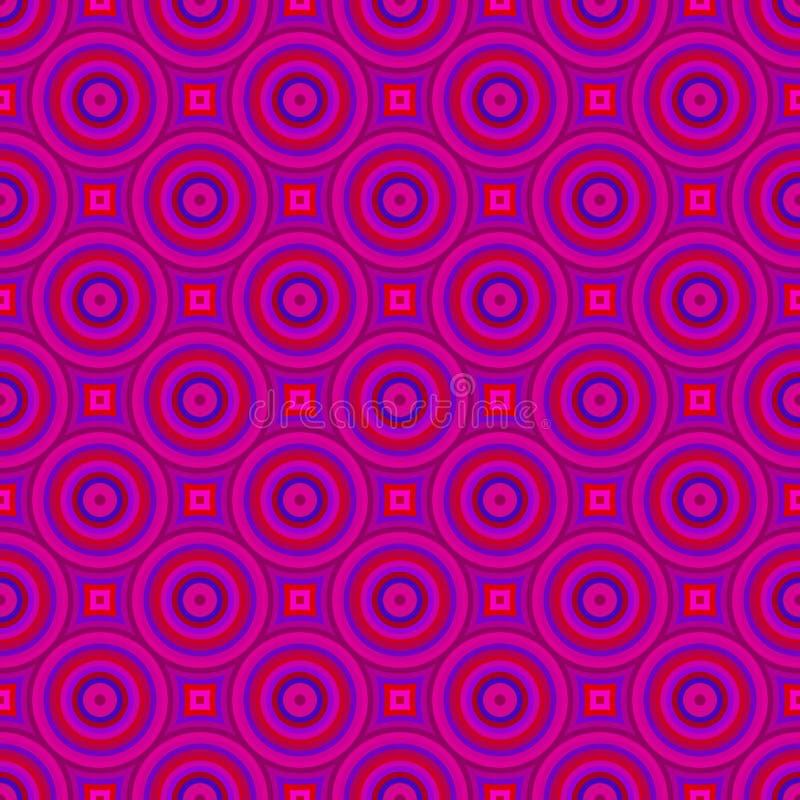 Abstraktes Retro- Muster lizenzfreie abbildung