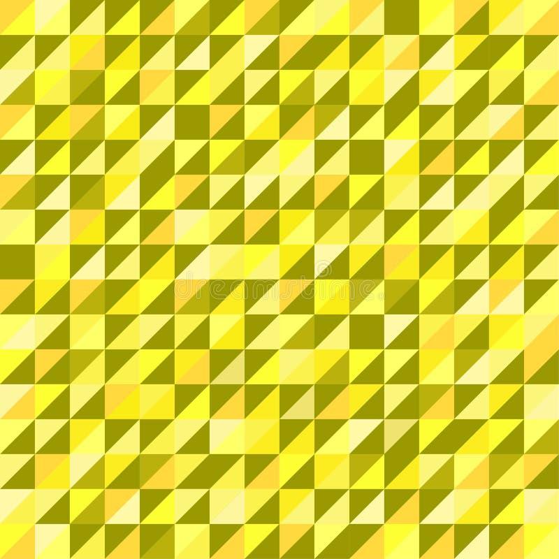 Abstraktes Retro- Muster von geometrischen Formen lizenzfreie stockfotos
