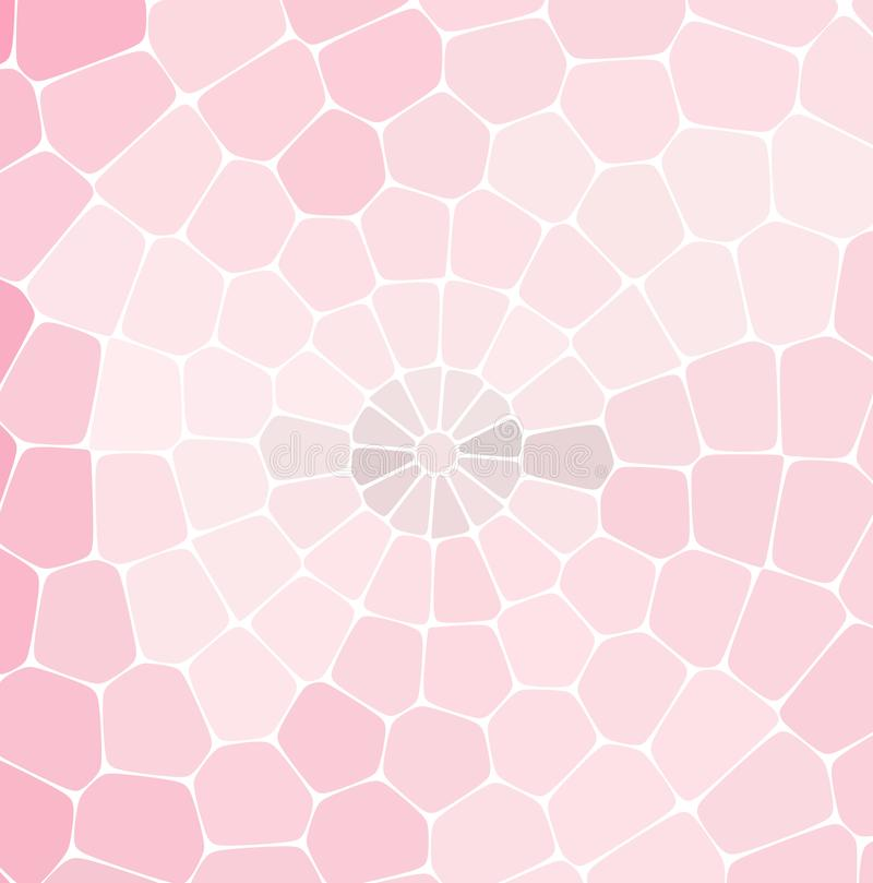 Abstraktes Retro- Muster von geometrischen Formen Bunter Steigungsmosaikhintergrund vektor abbildung