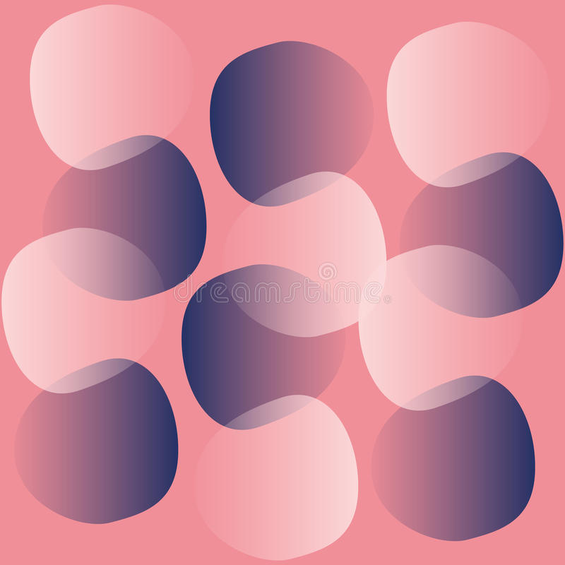 Abstraktes rosa Muster lizenzfreie stockbilder