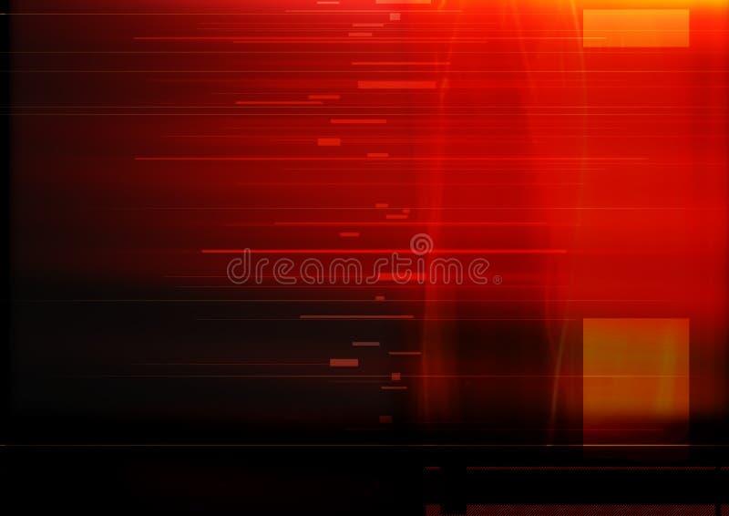 Abstraktes Rot lizenzfreie abbildung