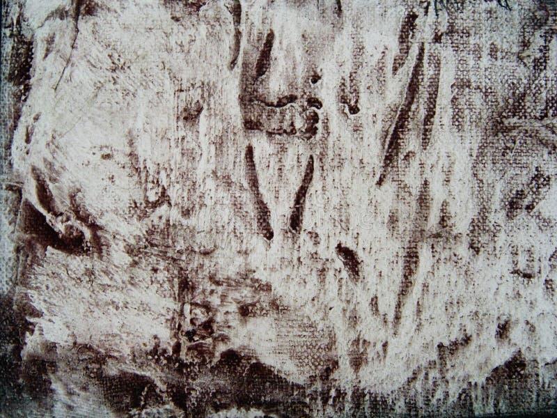 Download Abstraktes Segeltuch Grunge Muster Stockfoto - Bild von künstlerisch, orange: 48892