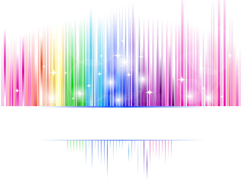 Abstraktes Spektrum lizenzfreie abbildung