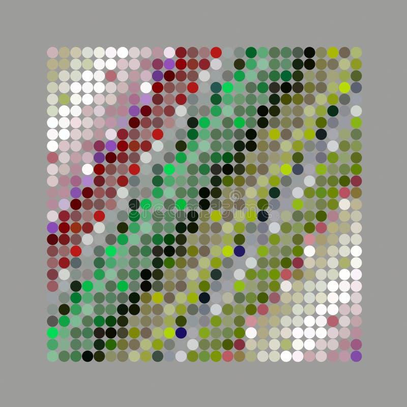 Abstraktes starkes Punkthintergrundmuster vektor abbildung