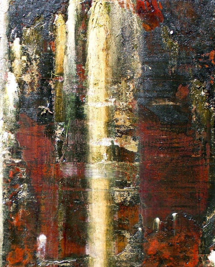 Abstraktes Steinwasser mehrfarbig lizenzfreie stockfotos