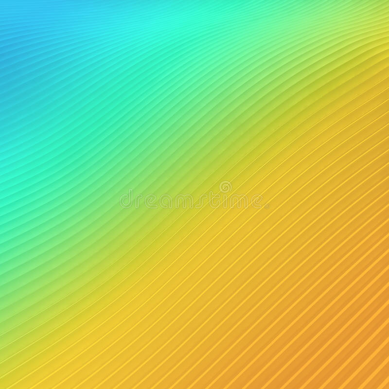 Abstraktes Strandwellenkonzept - Mehrfarben vektor abbildung