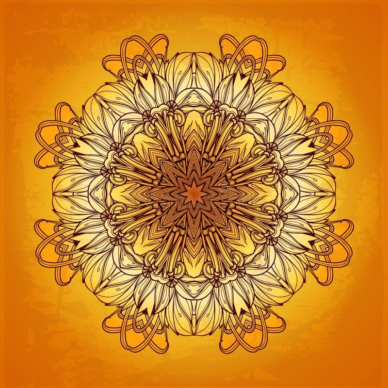 Abstraktes vektorfeld Es kann für Leistung der Planungsarbeit notwendig sein floral stock abbildung