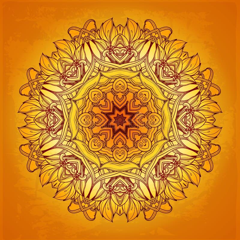 Abstraktes vektorfeld Es kann für Leistung der Planungsarbeit notwendig sein floral vektor abbildung