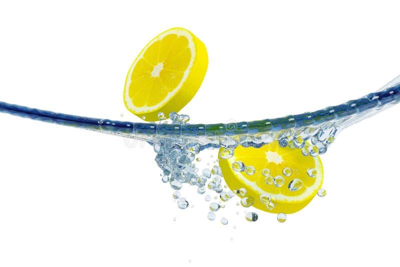 Abstraktes Wasser, Spritzen stock abbildung