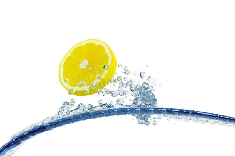 Abstraktes Wasser, Spritzen lizenzfreie abbildung