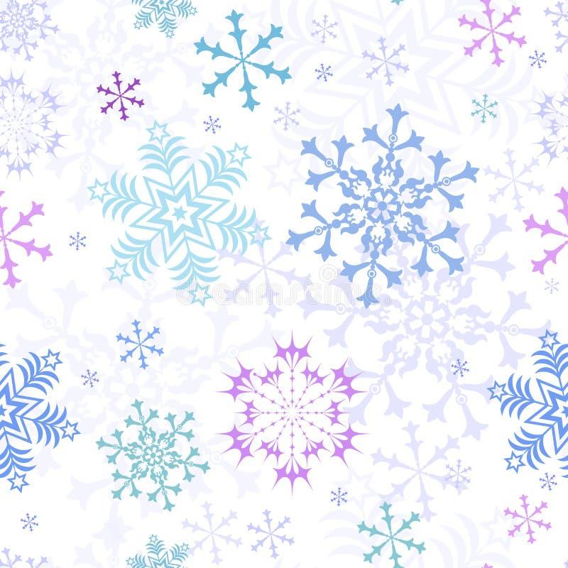 Abstraktes Weihnachtsnahtloses Pastellmuster lizenzfreie abbildung