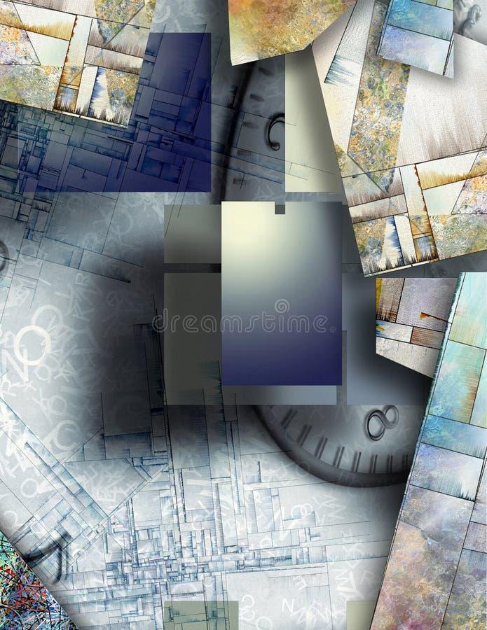 abstraktion stock illustrationer