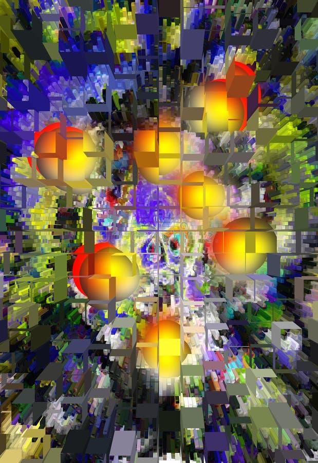 Abstraktion Auszug Anstrich abbildung Beschaffenheit gemasert einzigartigkeit abstraktionen auszüge beschaffenheiten bunt farben  stock abbildung