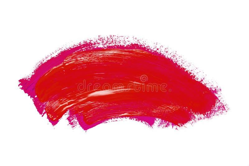 Abstraktion f?r den Hintergrund, zeichnend mit bunten Farben auf einem wei?en lokalisierten Hintergrund lizenzfreie stockfotos