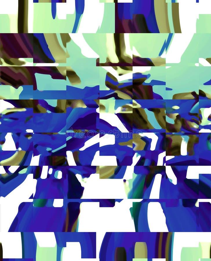 Abstraktion Grafische K?nste Anstrich Auszug Kunst vektor abbildung