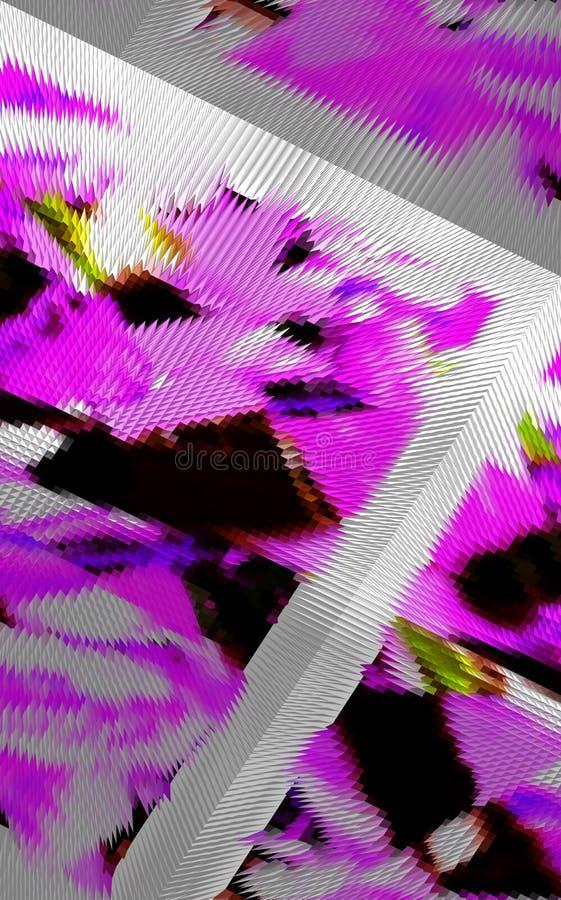 Abstraktion Grafische K?nste Anstrich Auszug Kunst lizenzfreie abbildung