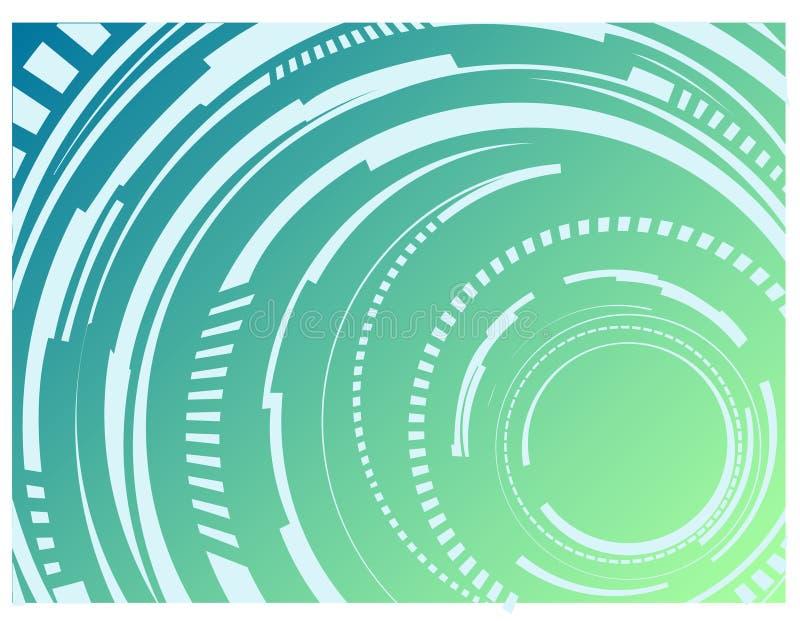 abstraktioncirklar royaltyfri bild