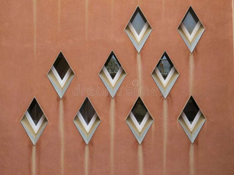 Abstract pattern of windows royalty free stock image