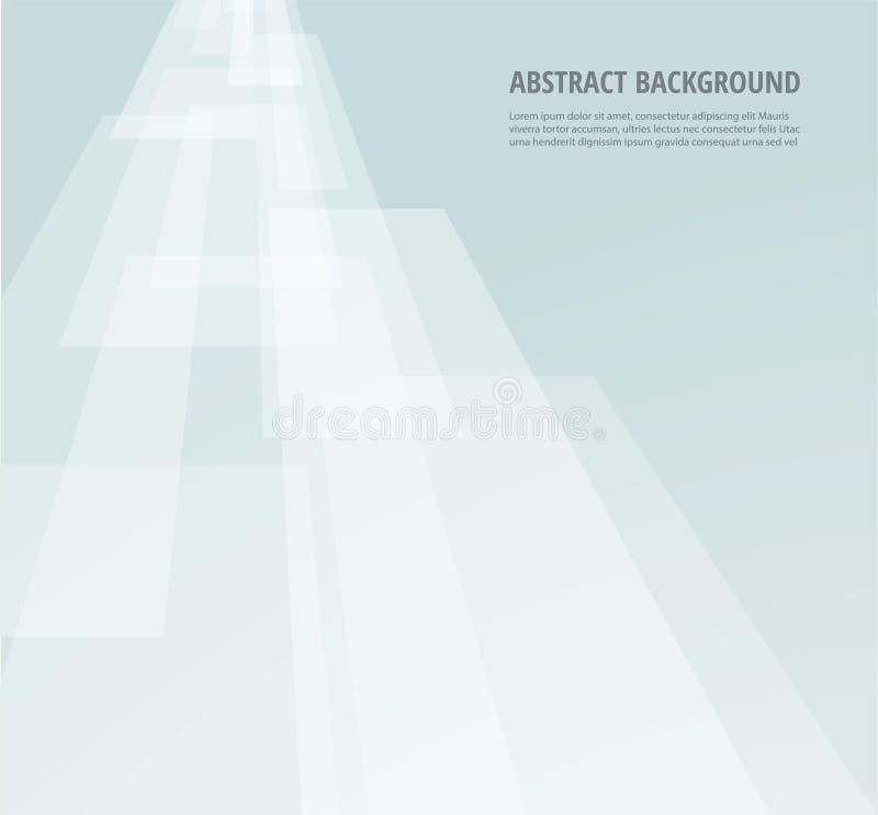 Abstrato ilumine - o papel de parede cinzento Ilustração EPS10 do vetor ilustração stock