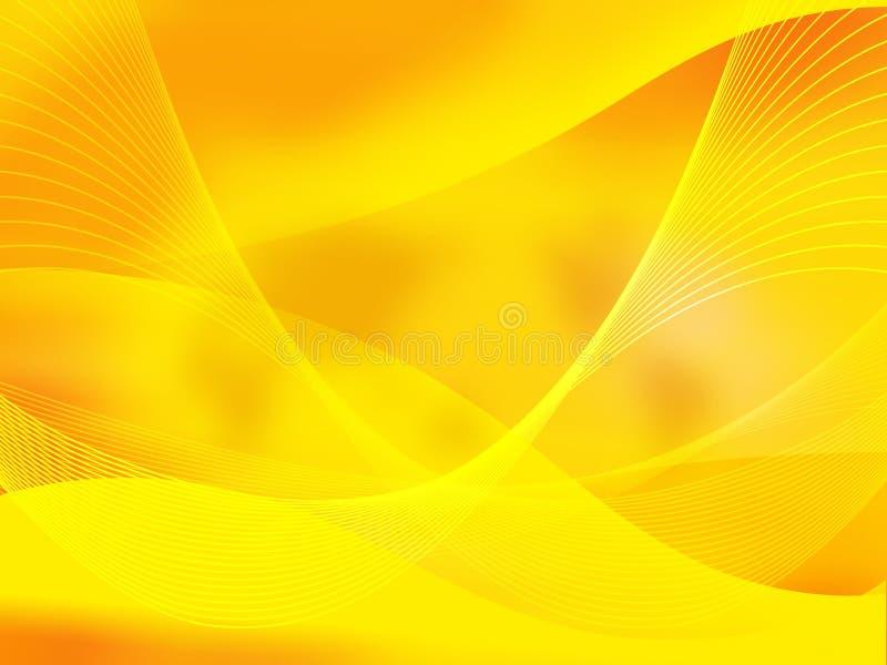 Abstrato refrigere ondas ilustração royalty free