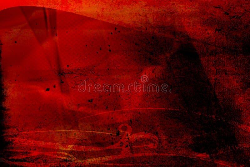 Abstrato refrigere ondas ilustração do vetor