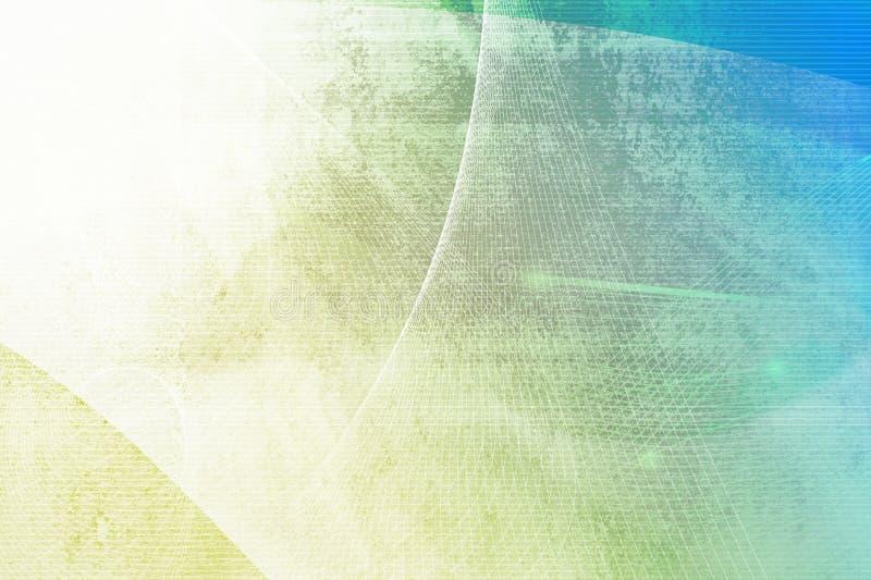 Abstrato refrigere ondas ilustração stock