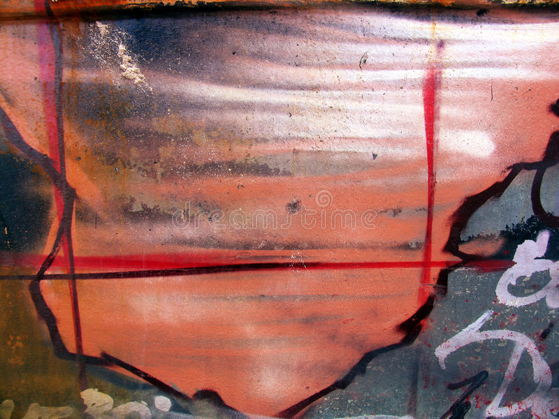 Abstruze Grunge Stock Afbeelding