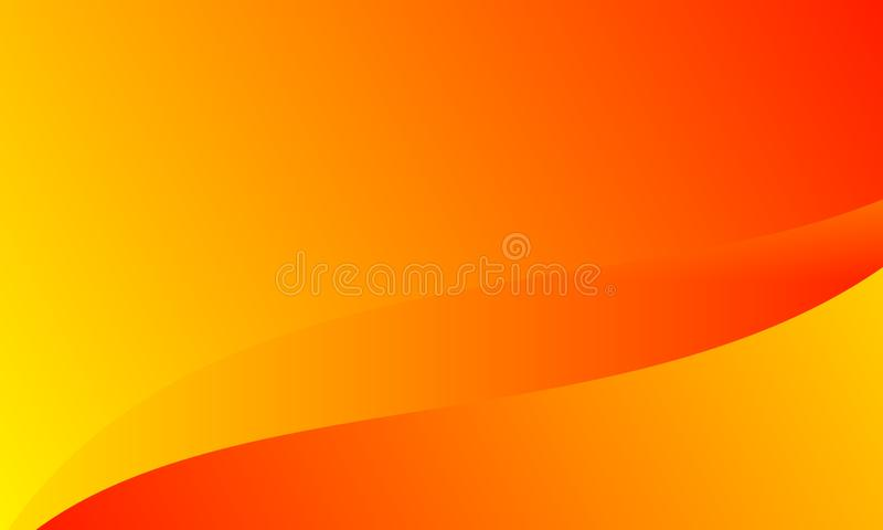 Abstract bright orange yellow colors Background. Vector Illustration. royalty free illustration