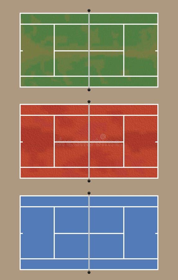 absztyfikuje tenisa ilustracji