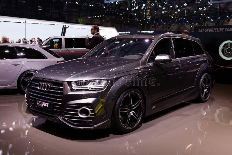 ABT Sportsline Audi Q7 royalty-vrije stock foto's