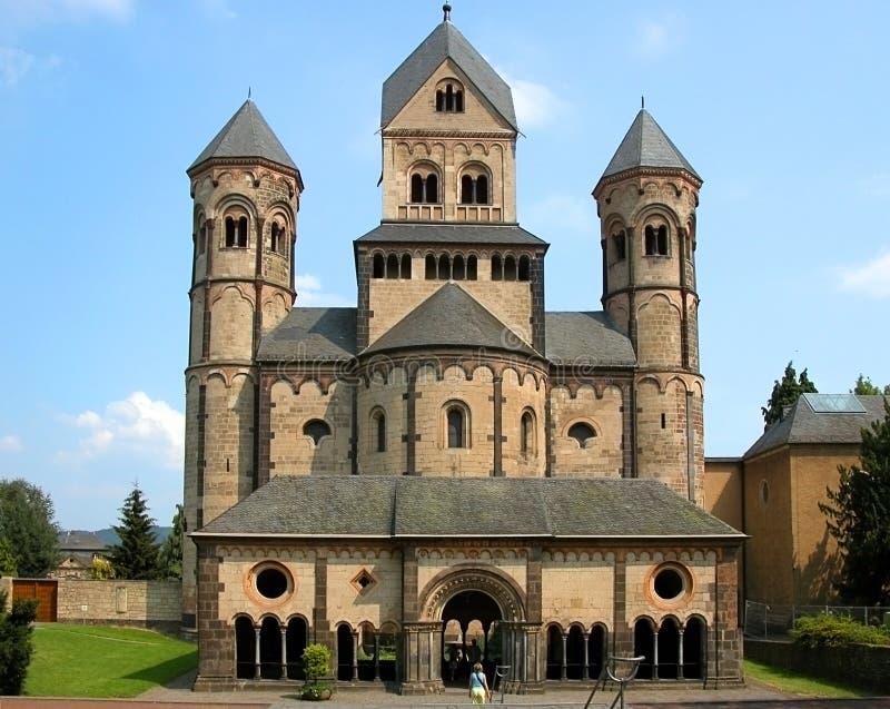 Abtei Maria-Laach stockbild