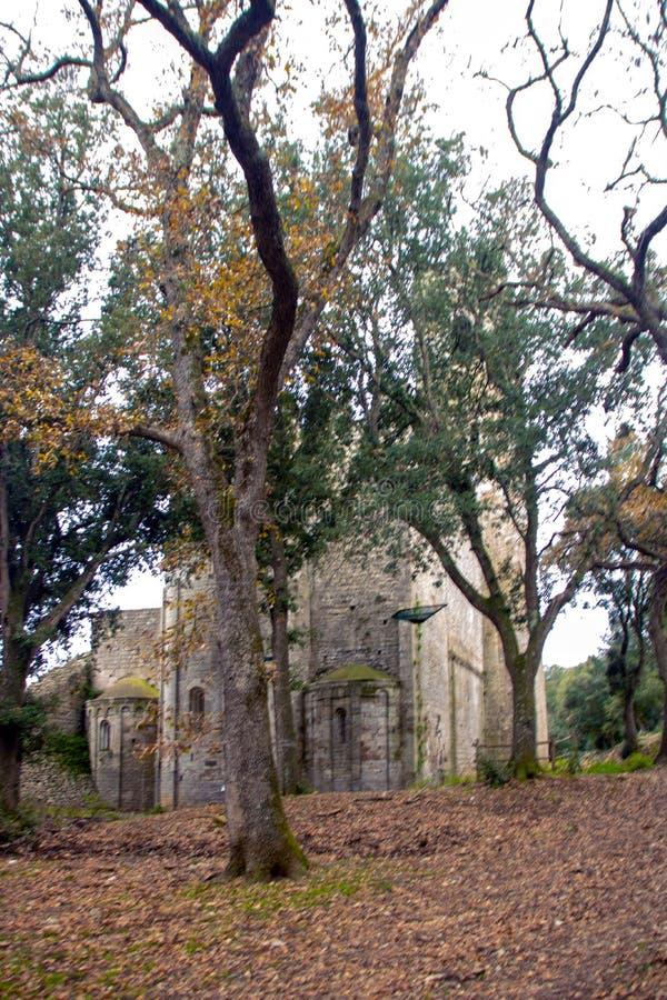 Abtei Sans Rabano lizenzfreies stockfoto