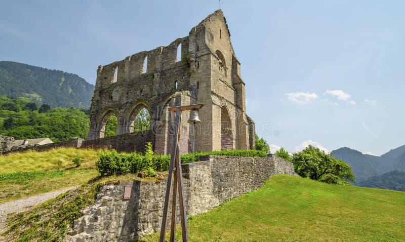 Abtei von Heilig-Jean-d'Aulps, Frankreich lizenzfreies stockbild